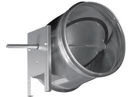 Воздушные клапаны для круглых воздуховодов Shuft серии DCGA