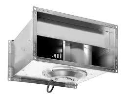 Прямоугольные канальные вентиляторы SHUFT с вперед загнутыми лопатками серии RF